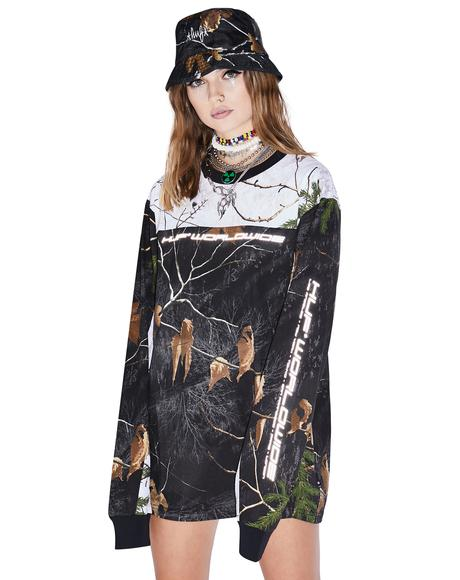 Realtree Black Endo Long Sleeve Jersey