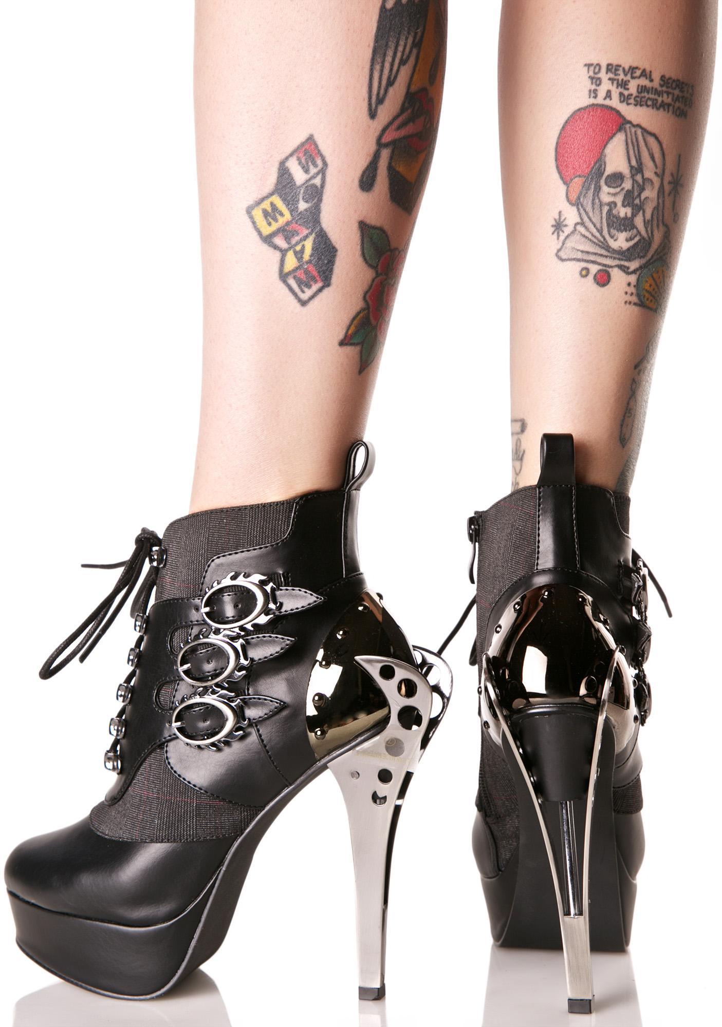 Hades Footwear Nemo Heeled Booties