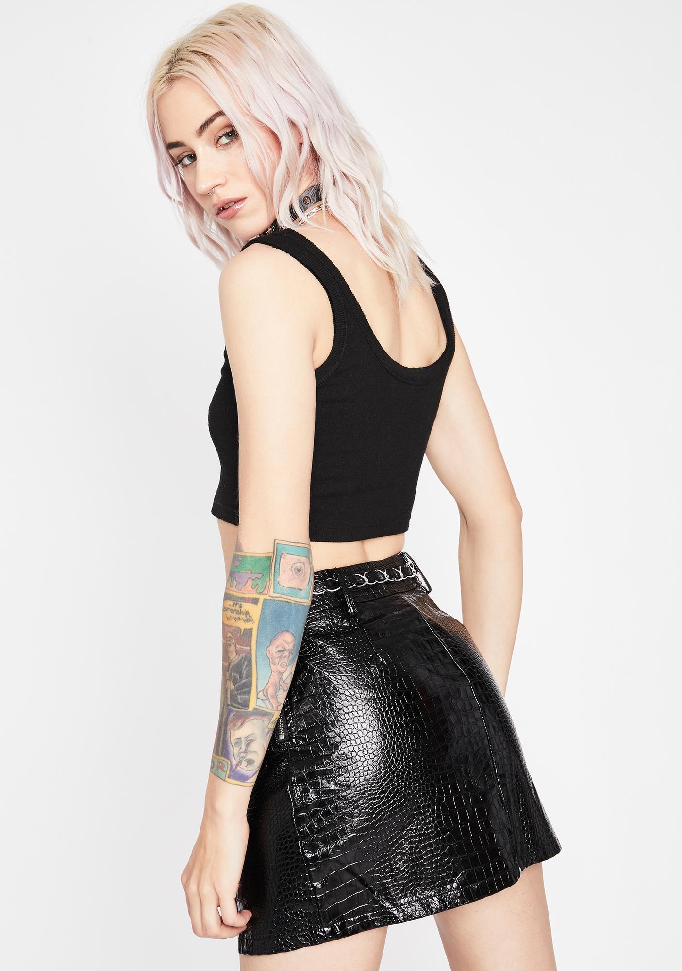 Mystic Major Trouble Mini Skirt