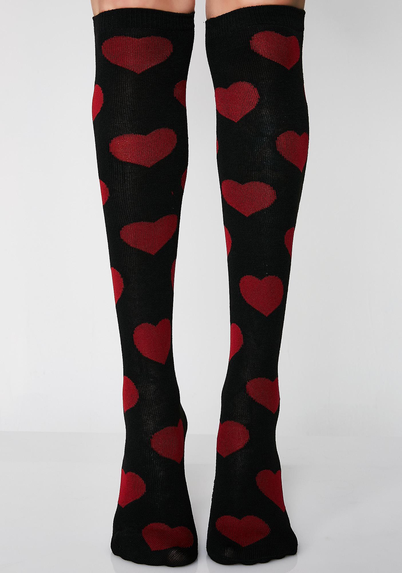 Be Mine 4eva Knee High Socks