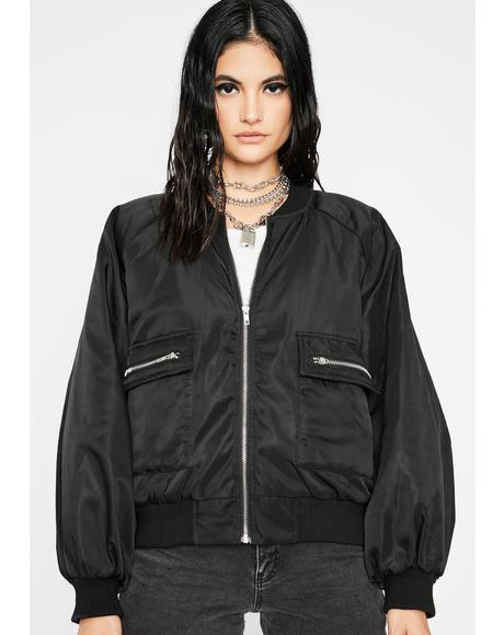 Overdrive Mode Bomber Jacket