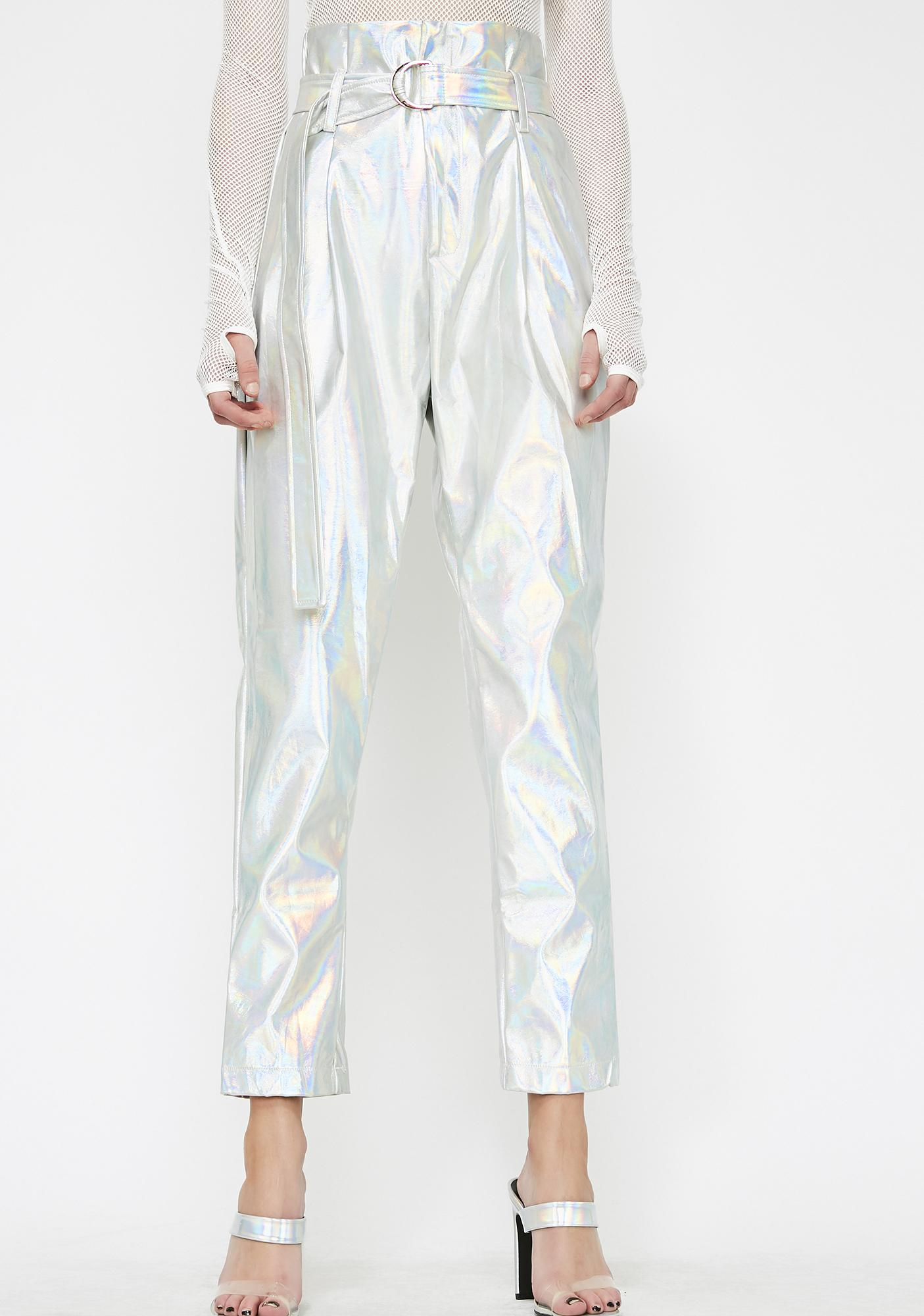Cosmonaut Holographic Pants