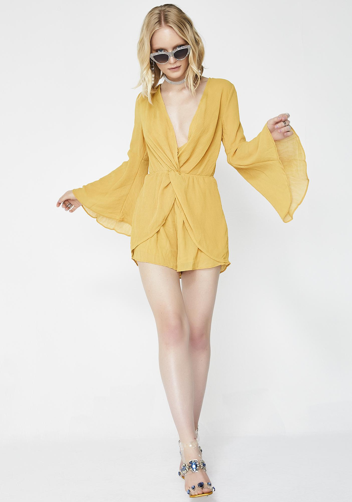 Act Ladylike Bell Romper