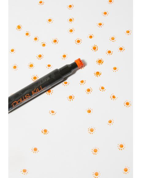 Burst Of Sunshine Stamp Liner