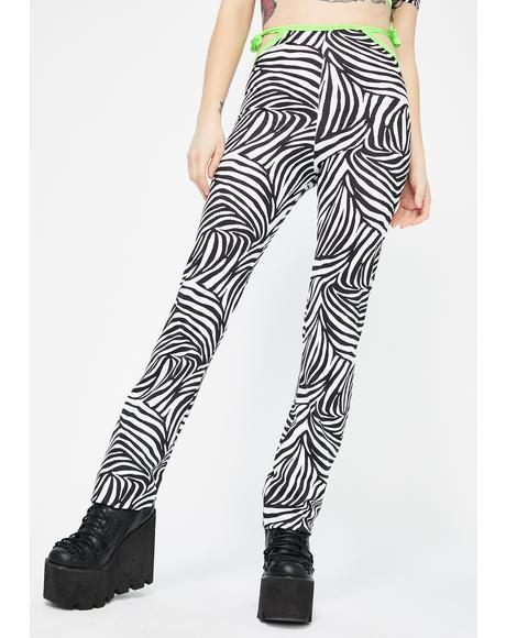 Christina Zebra Pants