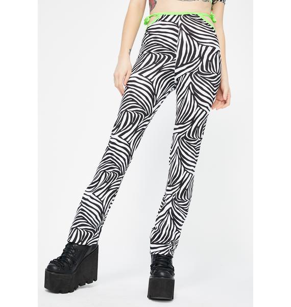 Babydol Clothing Christina Zebra Pants