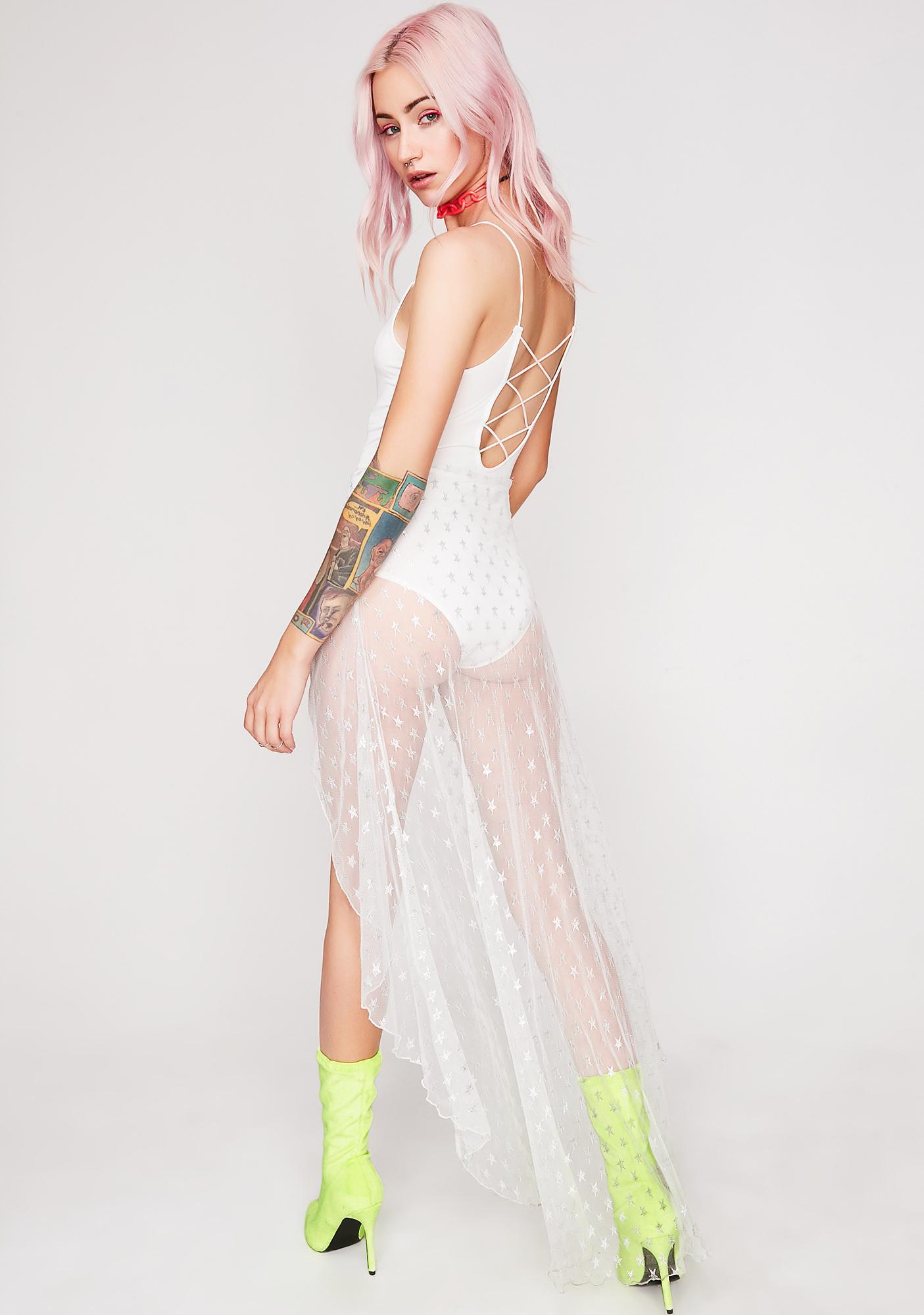 Icy Gypsy Rebel Sheer Dress