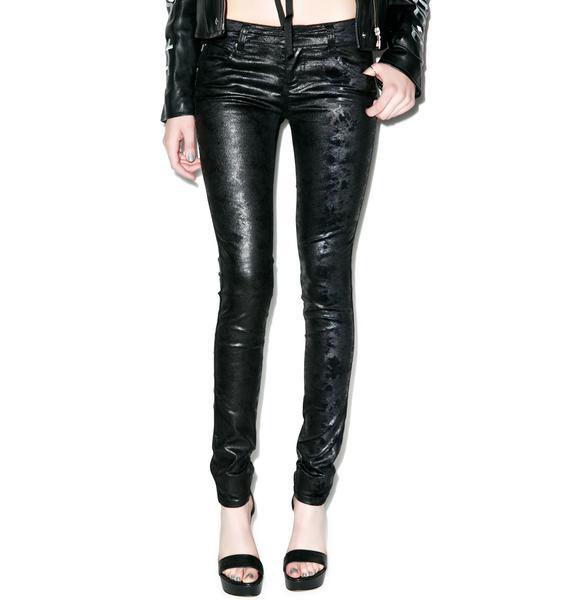 Tripp NYC Oil Slick Jeans