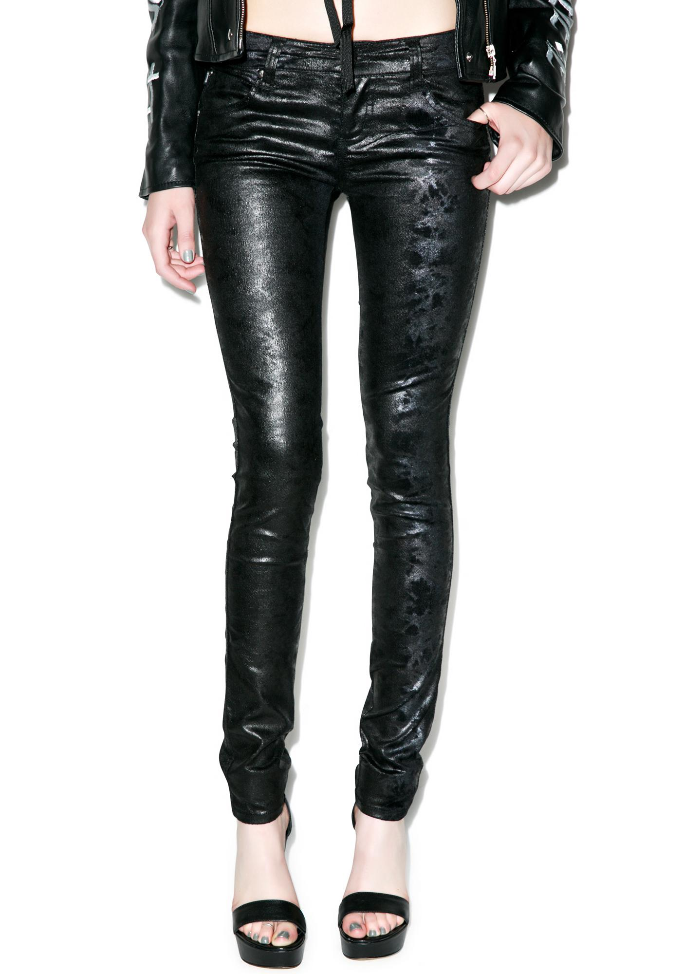 Tripp NYC Oil Slick Jeans