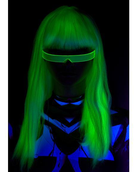 Invadin' Ur Heart Glow In The Dark Wig
