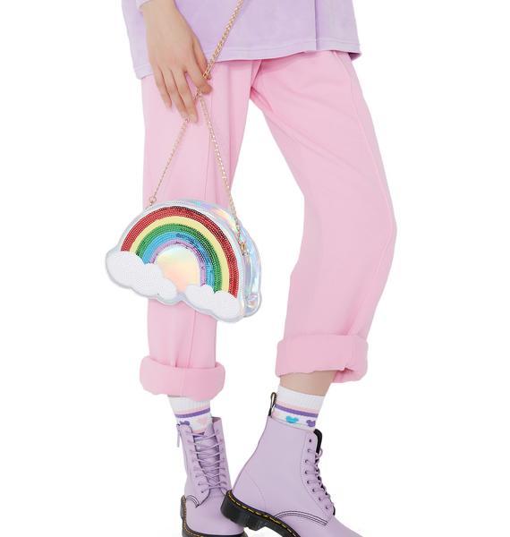 Rebel Rainbow Purse