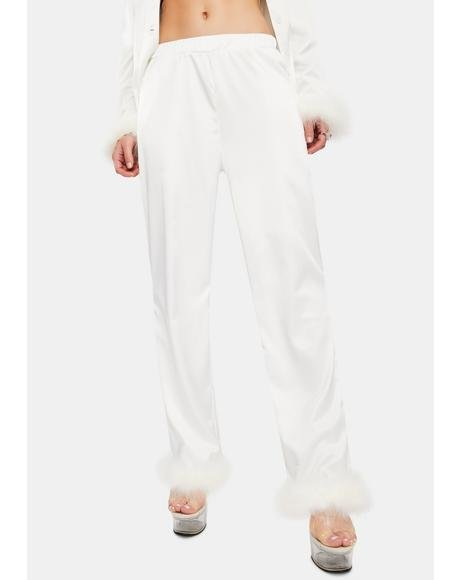 Sky Feather Pajamas Pants