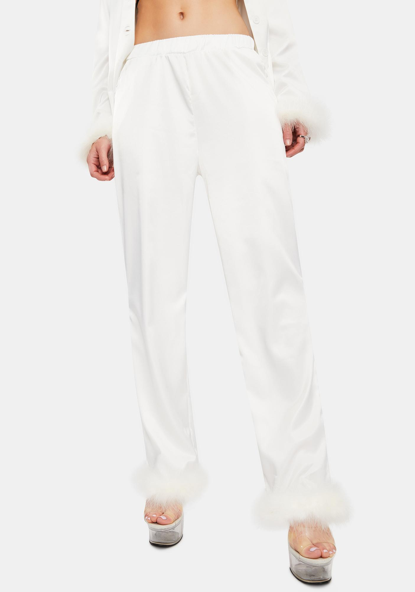 OW INTIMATES Sky Feather Pajamas Pants