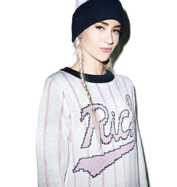 Joyrich Baseball Field Knit Crewneck