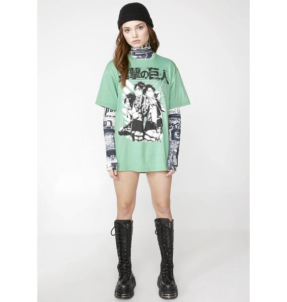 Worldly Madness Graphic Tee