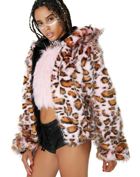 Pink Cheetah Jacket