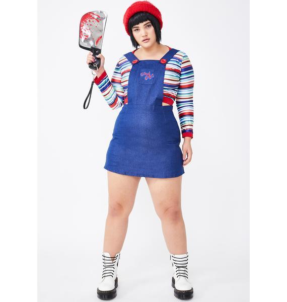 Miss Nightmare Killer Doll Costume Set