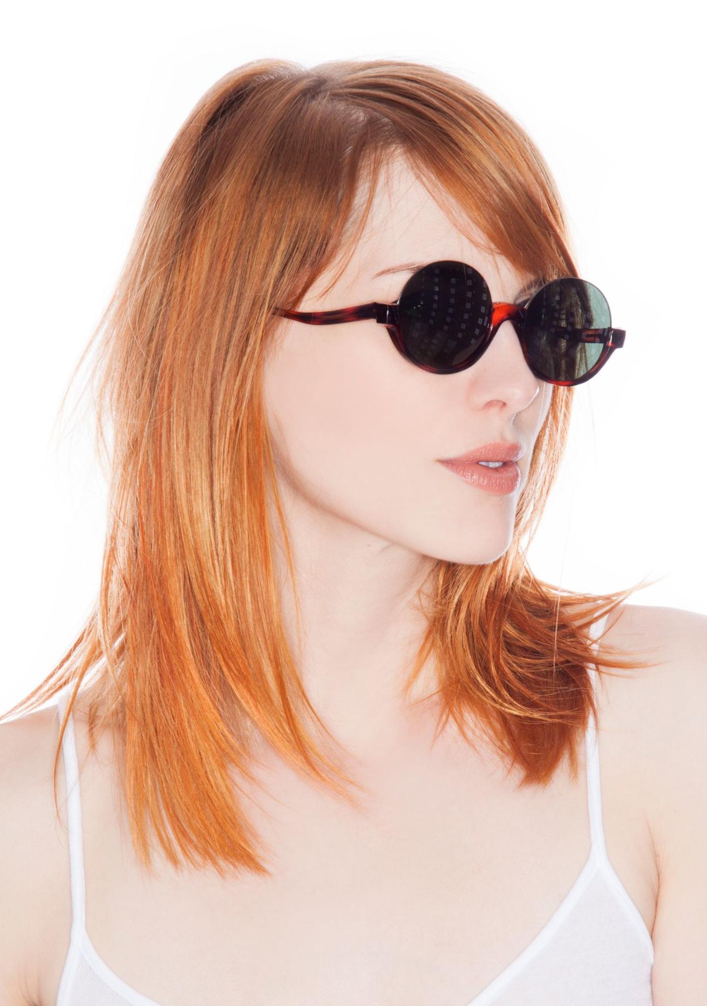 Peekabooda Half Round Vintage Deadstock Sunglasses