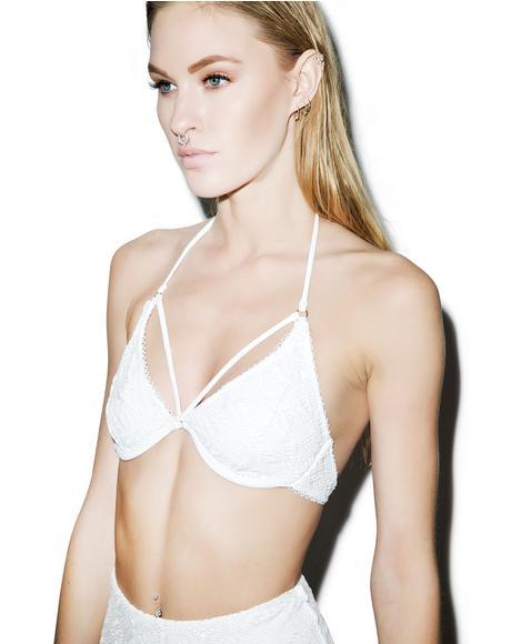 Prime Time Retro Bikini Top