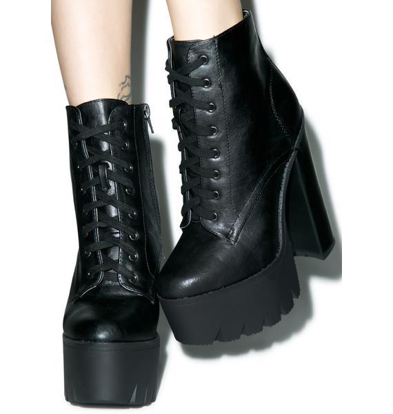Ziggy Iggy Platform Boots