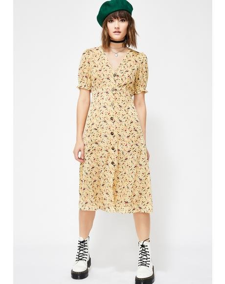 Sunshine Lovin' Midi Dress