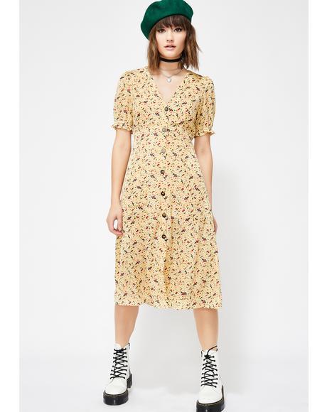 Sunshine Lovin' Midi Dress
