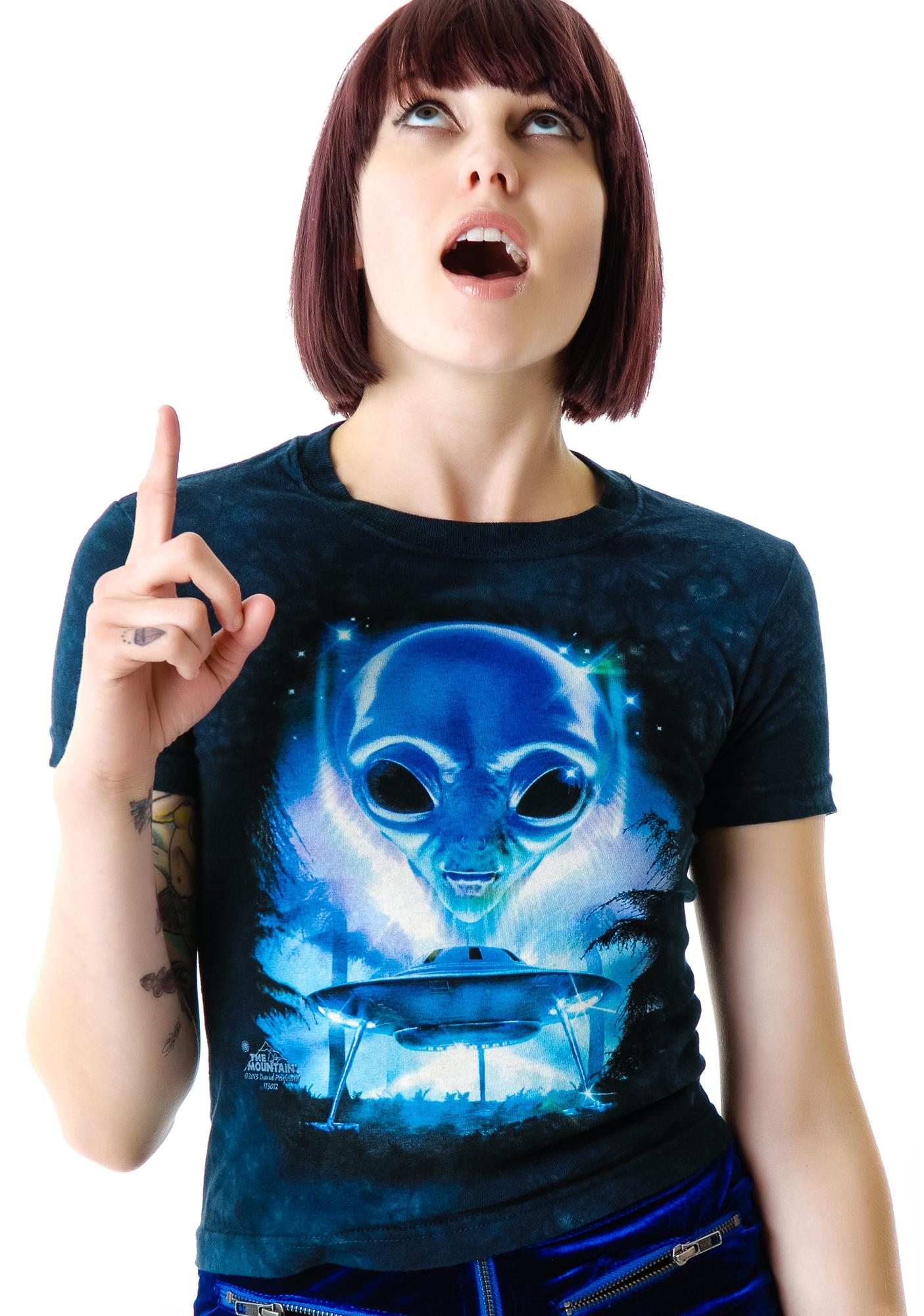 Alien Invader Baby Tee