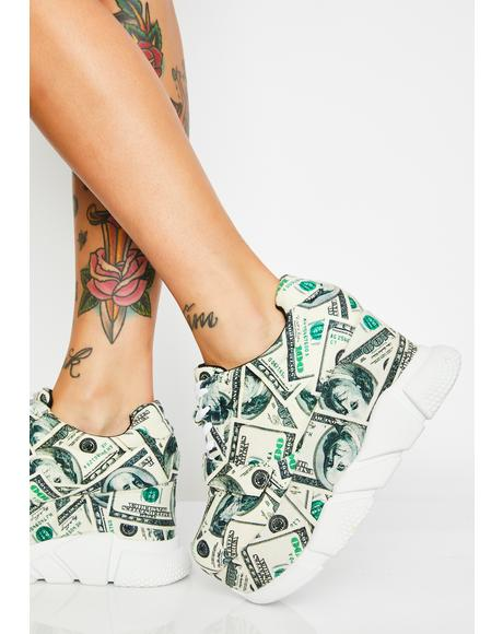 Cash Modern Spice Platform Sneakers