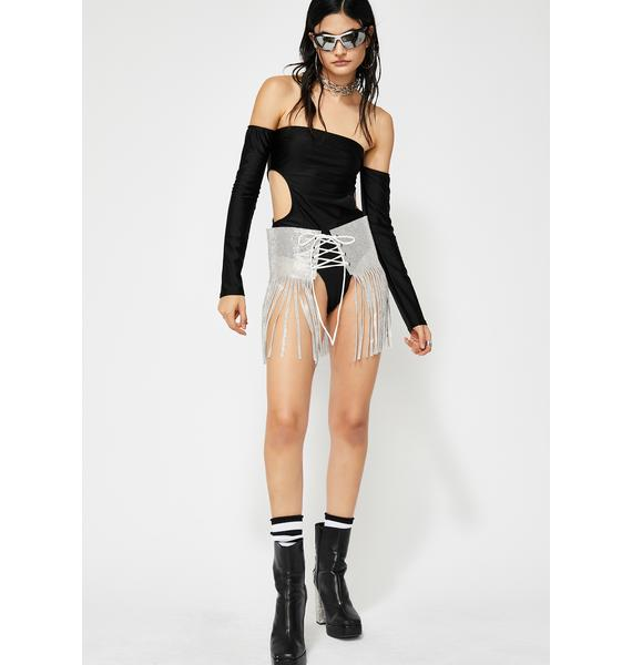 Just A Stranger Cut Out Bodysuit