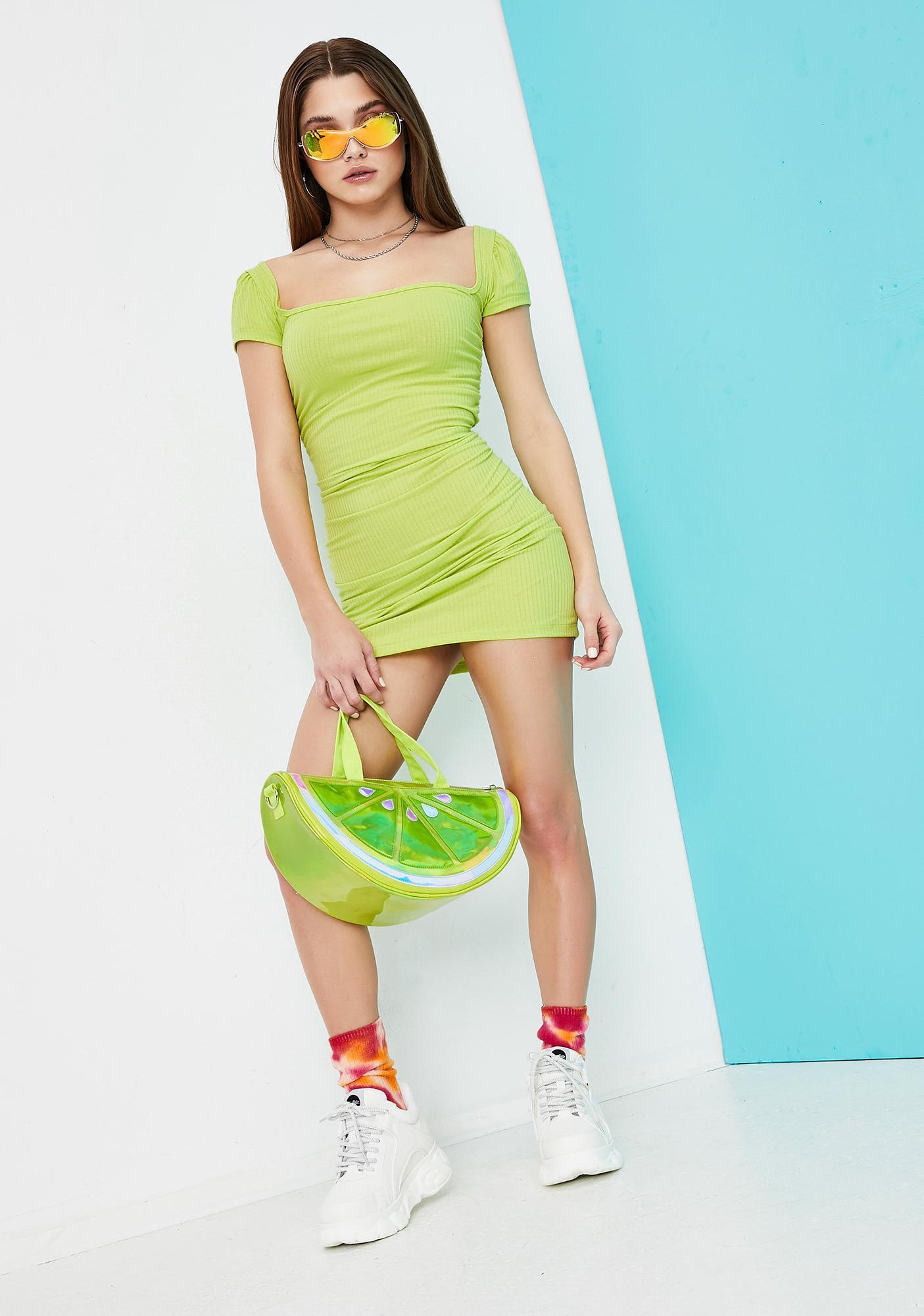 Current Mood Ain't It Fun Terry Cloth Mini Dress