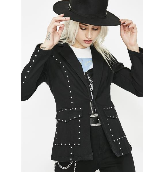 Wicked West Studded Blazer
