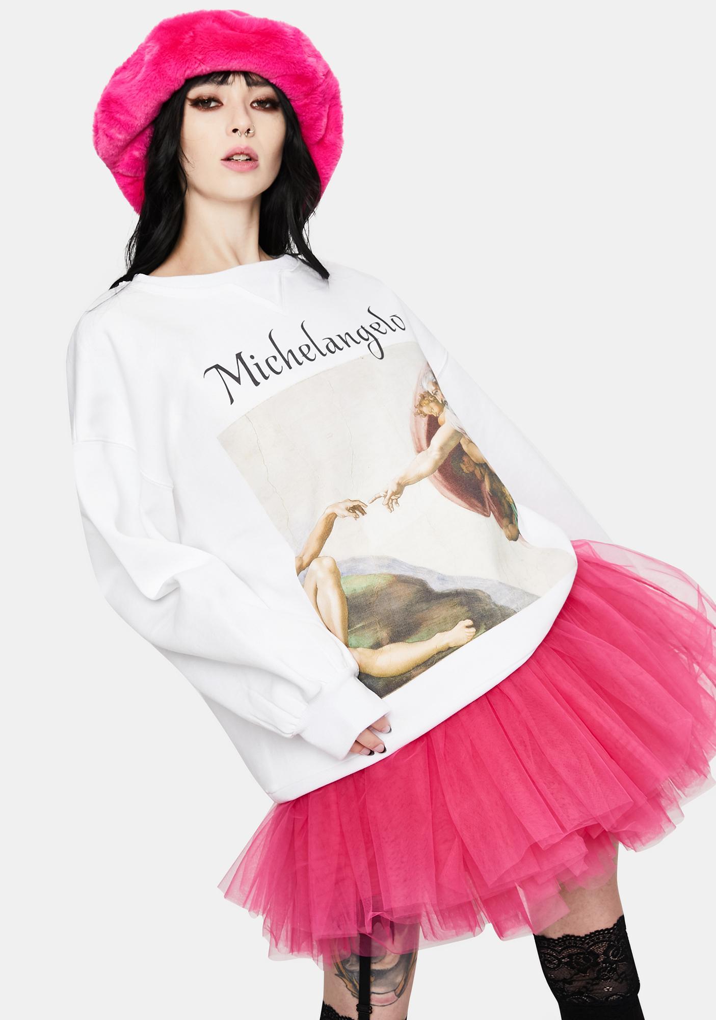 Selkie The Michelangelo Winter Sweater