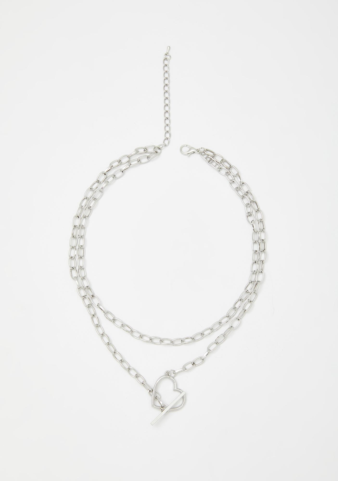 Steal My Heart Toggle Necklace