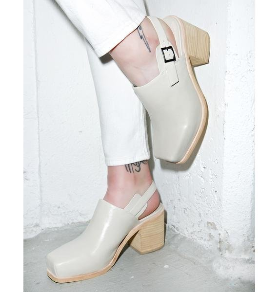 Intentionally Blank Honcho Slingback Heels