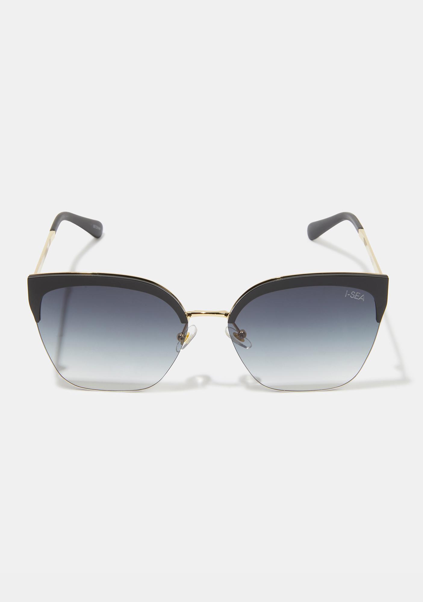 I-SEA Lucky Star Black Sunglasses