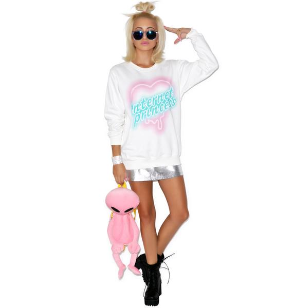 Local Heroes Internet Princess Sweatshirt