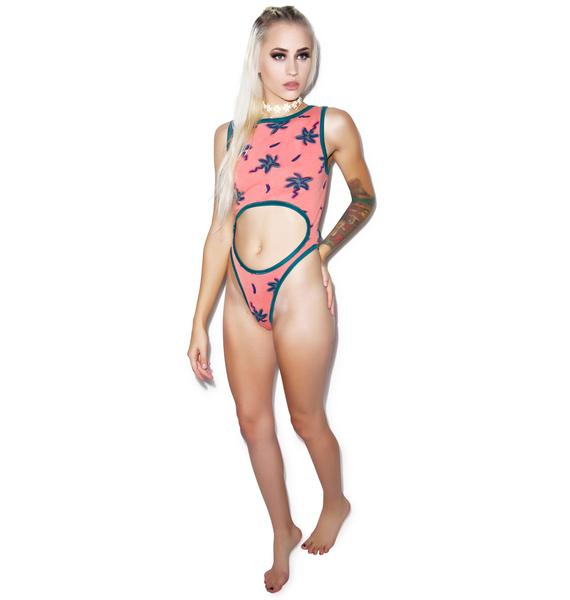Mamadoux Palm Trees Bodysuit