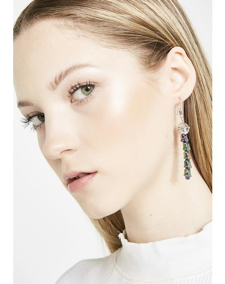 Star Drop Sensation Earrings