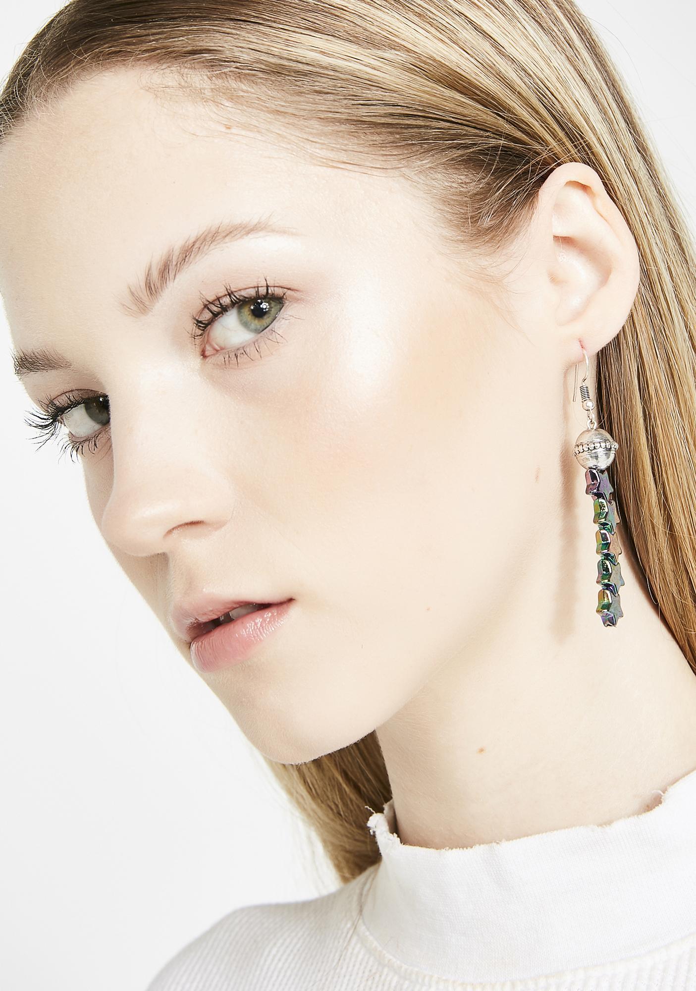 Star Drop Sensation Earrings
