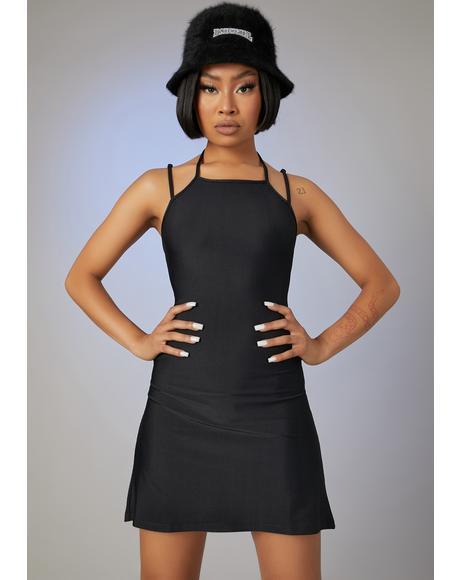 Off Duty Model Mini Dress