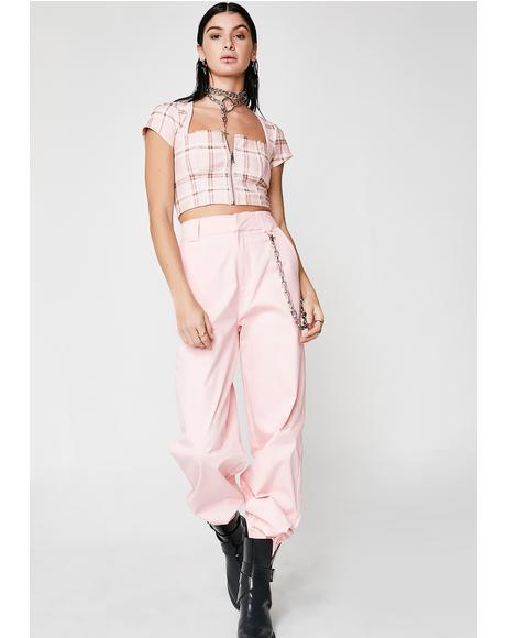 Pink Cobain Pants