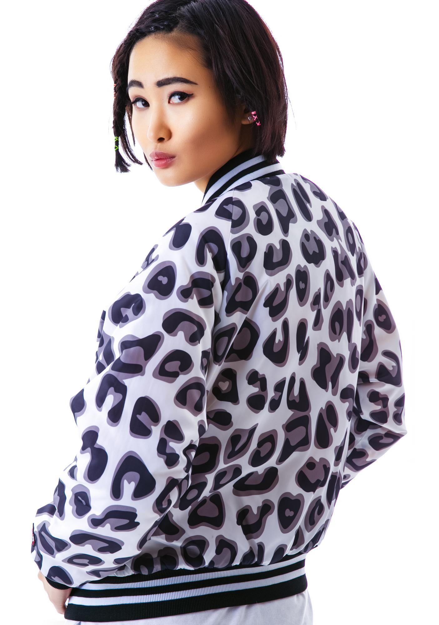 Joyrich Candy Leopard Athletic Jacket