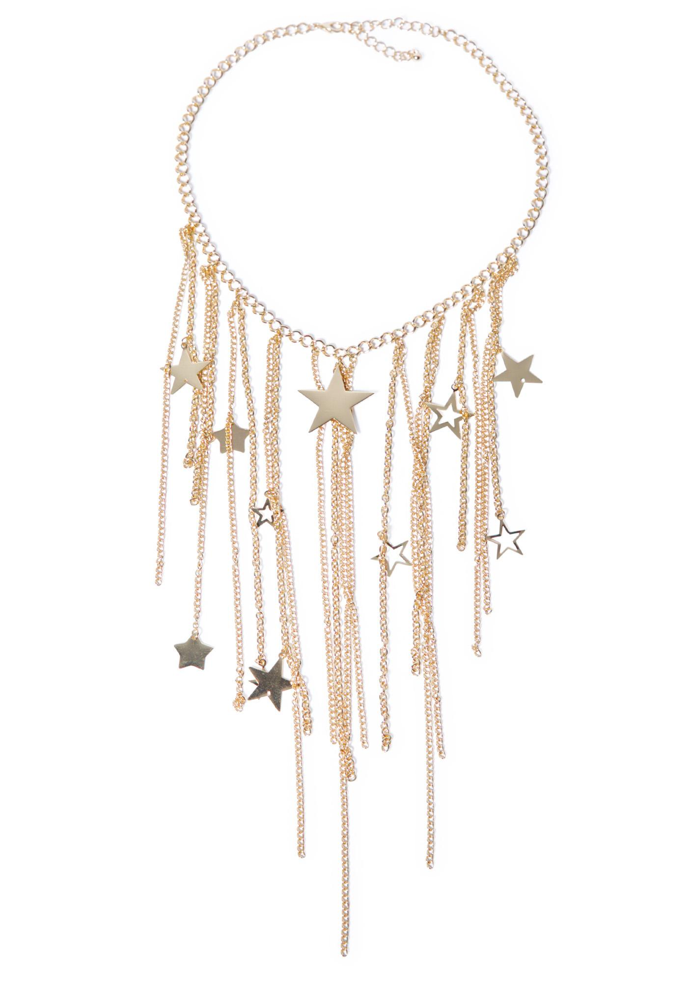 Falling Stars Necklace