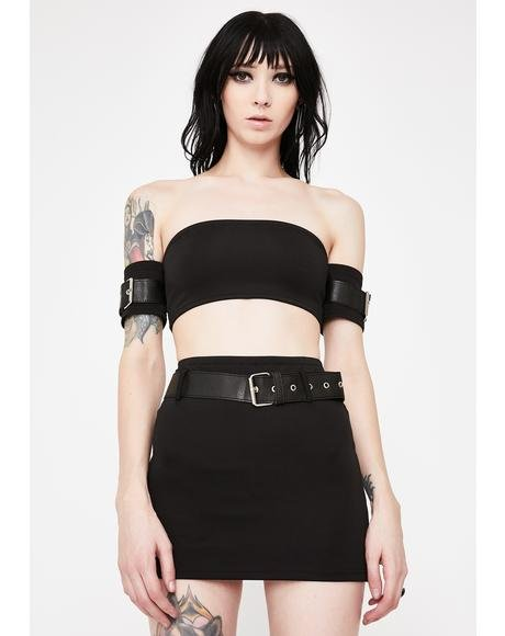Defiant Deviant Skirt Set