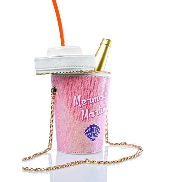 Skinnydip Mermaid Martini Cross Body Bag