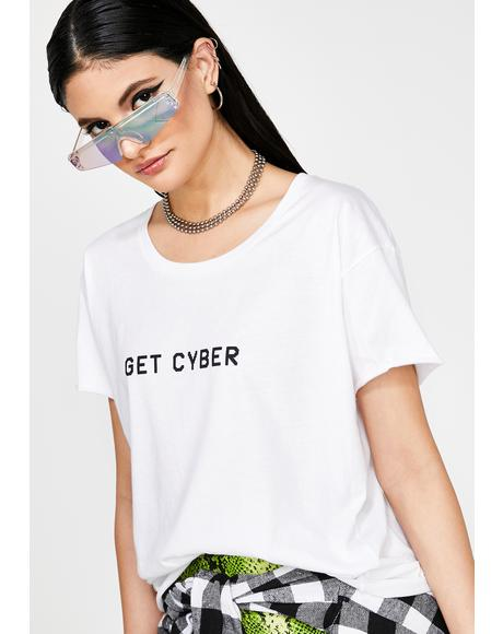 Get Cyber Graphic Tee