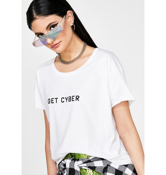 not another label Get Cyber Graphic Tee