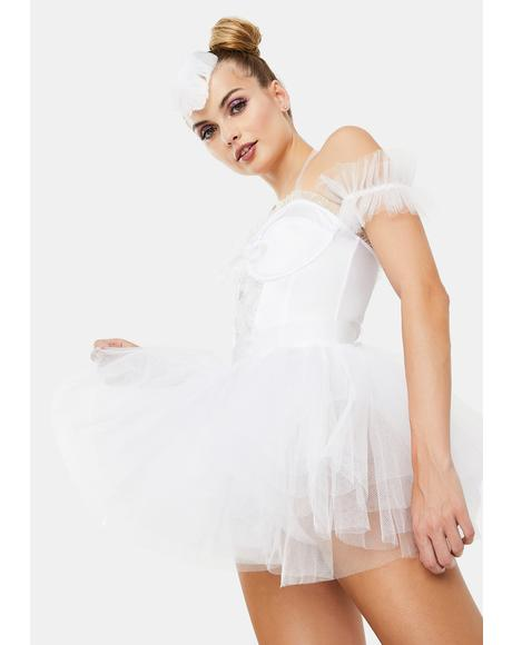 Goody Two Shoes White Swan Costume