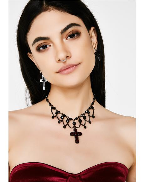 Lead Me To Temptation Choker