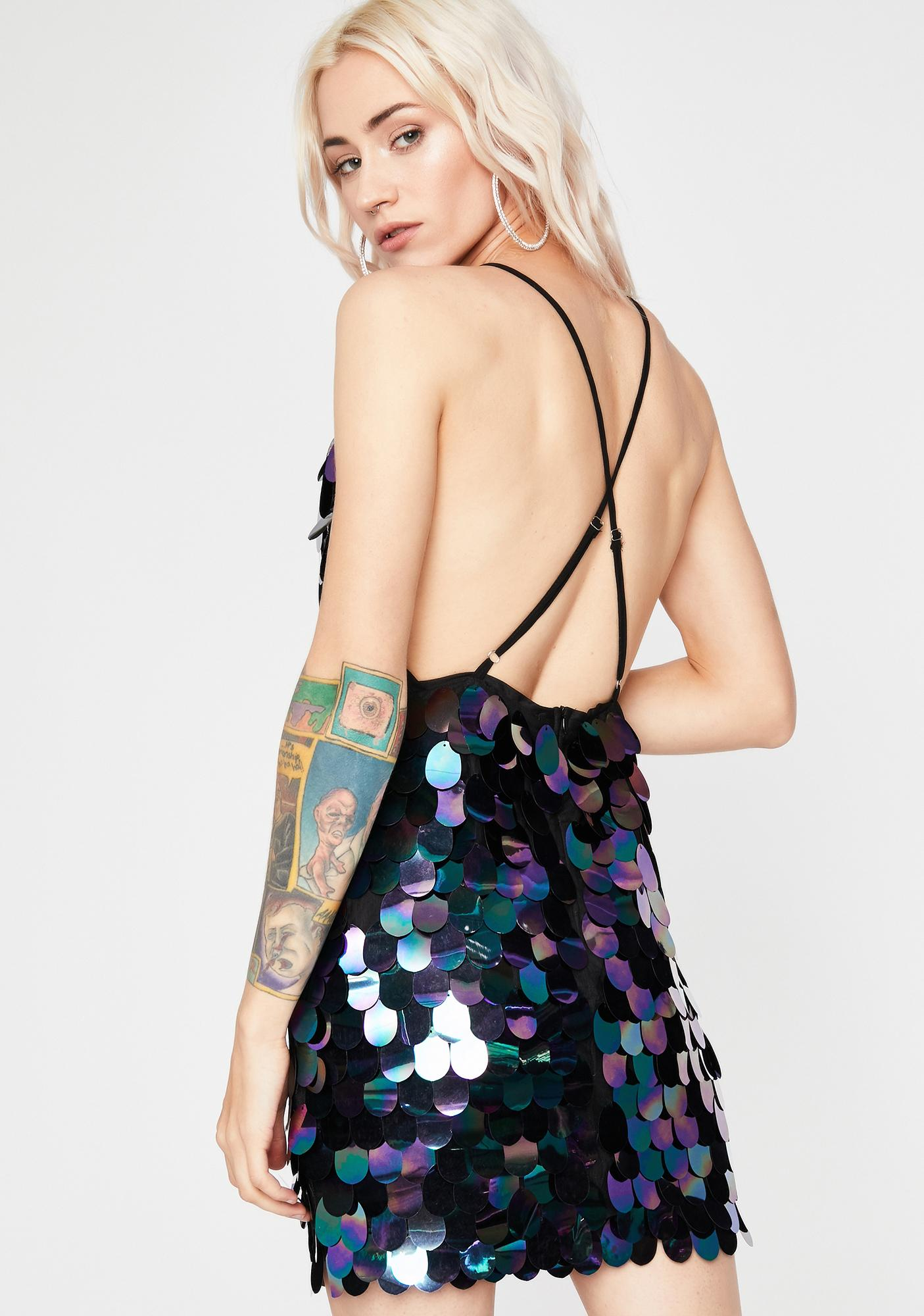 Max Glam Sequin Dress